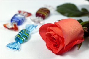rblackbook - roses and candy